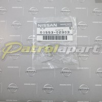Genuine Nissan Patrol Flare Stud GU White Male1