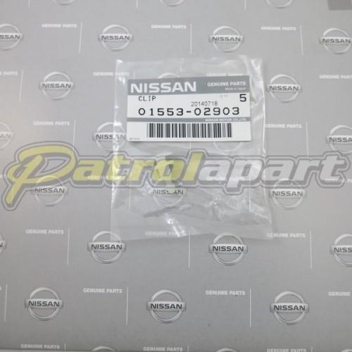 Genuine Nissan Patrol Flare Stud GU White Male1