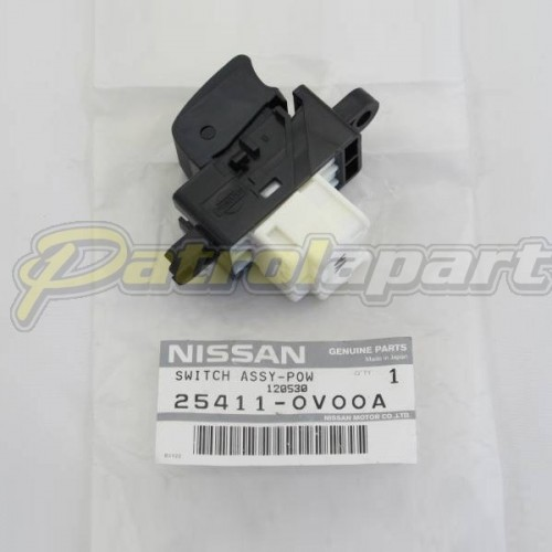 Genuine nissan patrol gu y61 electric window power switch for 2000 nissan quest power window switch