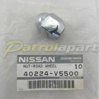 Genuine Nissan Patrol GQ & GU Chrome Wheel Nut