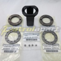 Genuine Nissan Patrol GQ GU Hub Nut Kit with Tool