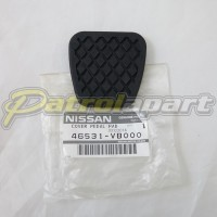 Genuine Nissan Patrol GU Manual Pedal Rubber for Brake & Clutch