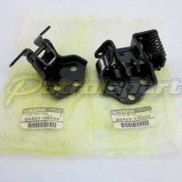 Nissan Patrol GQ Genuine Drivers Door Hinge Set