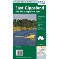 East Gippsland-Sapphire Coast Hema map