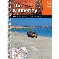 Hema Kimberley Atlas and Guide Spiral Book