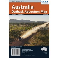 Map Hema Outback Adventure
