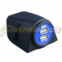 Baintech Dual USB S/Mount