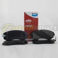 BENDIX 4WD Brake Pad Rear Nissan Patrol GU Y61