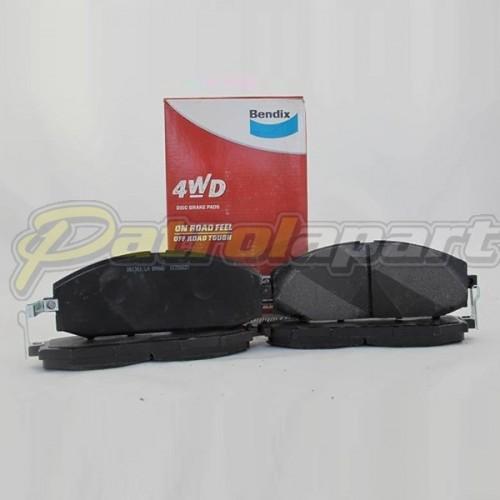 Bendix 4wd Brake Pads Suit GU Y61 Nissan Patrol Front