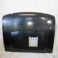 BRAND NEW Genuine Nissan GU 1-3  Bonnet With Scoop In Undercoat