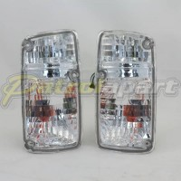 Crystal Corner Indicator Light Set Nissan Patrol GQ Series 1