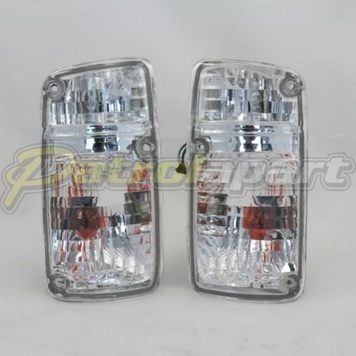 Crystal Corner Indicator Light Set Nissan Patrol GQ Series 1