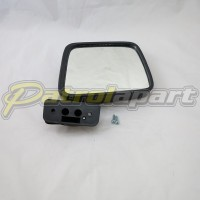 Aftermarket Manual Mirror Suit GQ Right hand Side In Black
