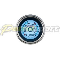 Redarc Oil Pressure + Water Temp Gauge with Optional Ambient Temp