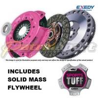Nissan Patrol GU ZD30Di Exedy Sports Tuff Heavy Duty Clutch Kit with Solid Mass Flywheel
