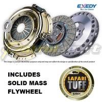 Nissan Patrol GU ZD30Di Exedy Safari Tuff Clutch Kit with Solid Mass Flywheel