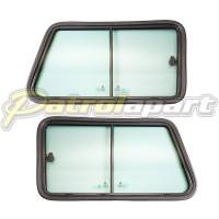 Nissan Patrol Alloy Window Frame Assembly GQ Y60 LWB Pair