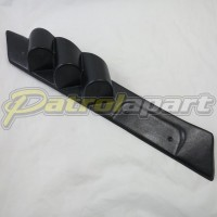 Nissan Patrol GQ Pillar Pod 3 gauge suit 52mm Gauges