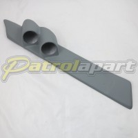 Nissan Patrol GQ Grey Pillar Pod Twin gauge suit 52mm Gauges