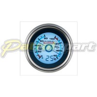 Redarc Oil Pressure + Oil Temp Gauge with Optional Temp Display