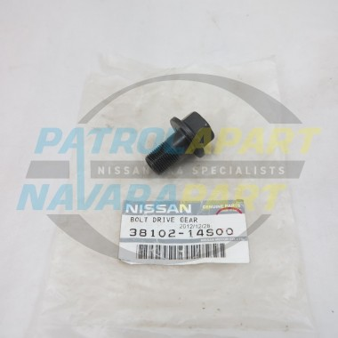Genuine Nissan Crown Wheel Bolt GQ GU Y62 with H260 diffs 38mm