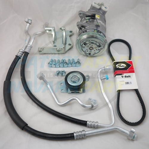 A/C Air Conditioning Kit suit Nissan Patrol GU Y61 TD42 Conversion