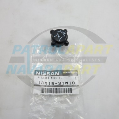 Genuine Nissan GQ GU Patrol Hand Throttle Idle Control Knob