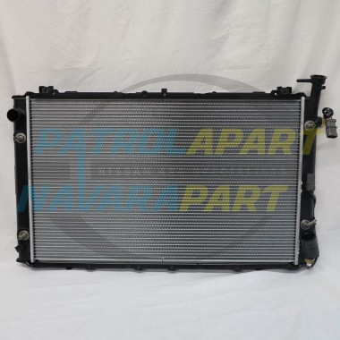 Genuine Nissan GQ TB42 Auto Alloy Radiator