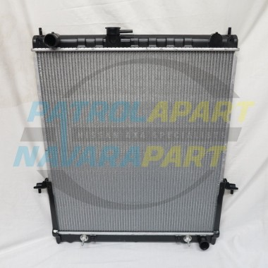 Genuine Nissan Patrol GU Y61 TB48 Radiator to suit Auto Transmission