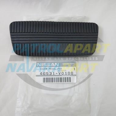 Genuine Nissan Patrol GQ Y60 Auto Brake Pedal Rubber