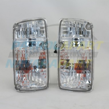 Crystal Corner Indicator Light Set Nissan Patrol GQ Y60 Series 1