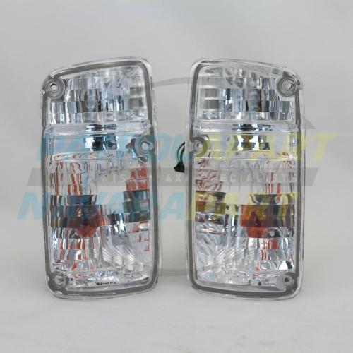 Crystal Corner Indicator Light Set Nissan Patrol GQ Y60 Series 1