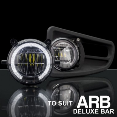 STEDI LED Fog light with Daytime Running Lamp Upgrade for ARB Deluxe Bullbar