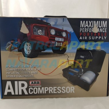 ARB Compressor Kit Twin Motor Portable with Tank 12V Max Performance