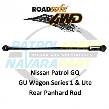 Patrol Heavy Duty Rear Adjustable Panhard Rod Suit GQ & Early GU