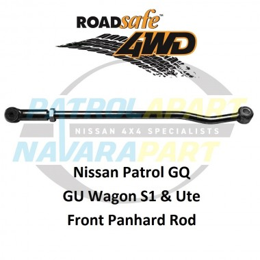 Heavy Duty Front Adjustable Panhard Rod Suit GQ & Early GU Nissan Patrol