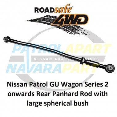 Heavy Duty Adjustable Rear Panhard Rod suit Nissan Patrol GU GU2+