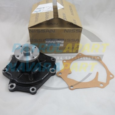 Genuine Nissan Patrol GQ GU & Maverick TD42 Water Pump & Gasket