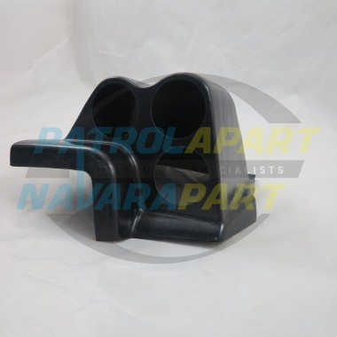 Dash Pod suit 3 x 52mm Gauges Black ABS fits Nissan Patrol GQ Y60
