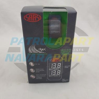 Dual Voltage Digital Switch Gauge Carling Size 22mm x 49mm