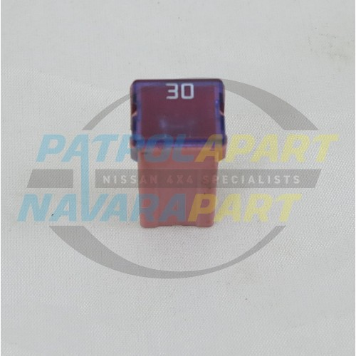 Nissan Patrol Gu 30amp Push In Pink Fuse S  H