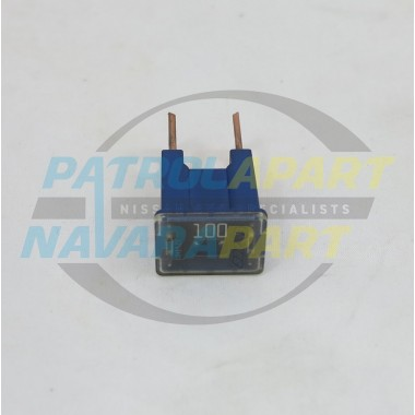 Nissan Patrol GU 100Amp Bolt in Blue Fuse S/H