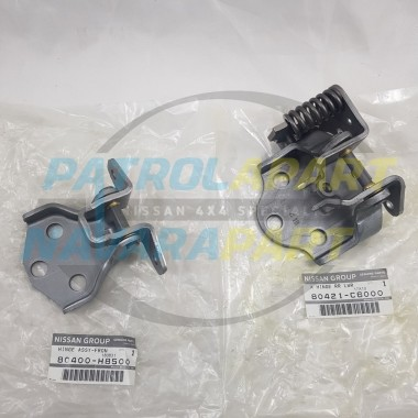 Nissan Patrol GQ Y60 Genuine Passenger Door Hinge Set