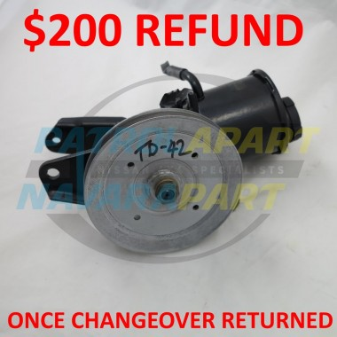 Nissan Patrol GQ TD42 Reconditioned Power Steering Pump C/O