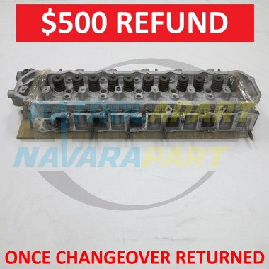 Nissan Patrol GQ TB42 Reconditioned Cylinder Head