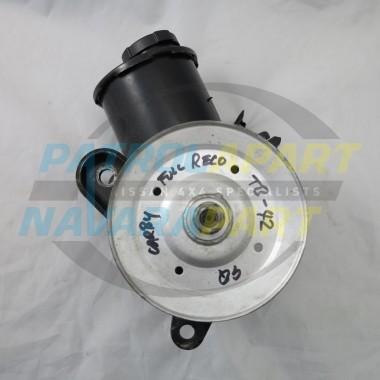 Nissan Patrol GQ TB42 Carby Reconditioned Power Steering Pump C/O
