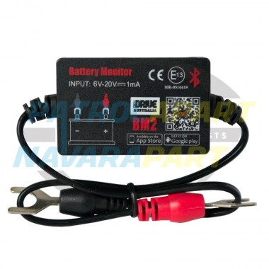 IDRIVE Australia Bluetooth 12V Battery Monitor Alarm