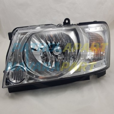 Genuine Nissan Patrol GU S4 Complete LH Left Headlight Assembly