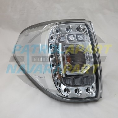 Genuine Nissan Patrol Y62 Wagon LH Body LED Tail Light 12/2012 on