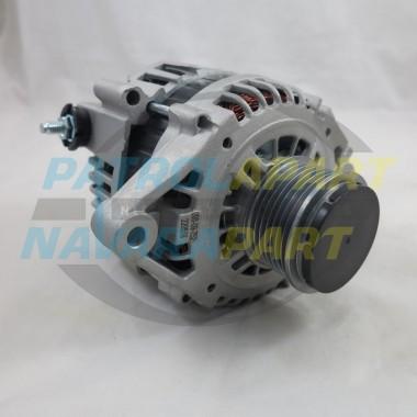 100Amp Alternator for Nissan Patrol GU Y61 ZD30 with Clutch Pulley